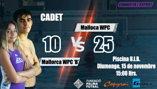"Mallorca WPC ""B"" vs Mallorca WPC"